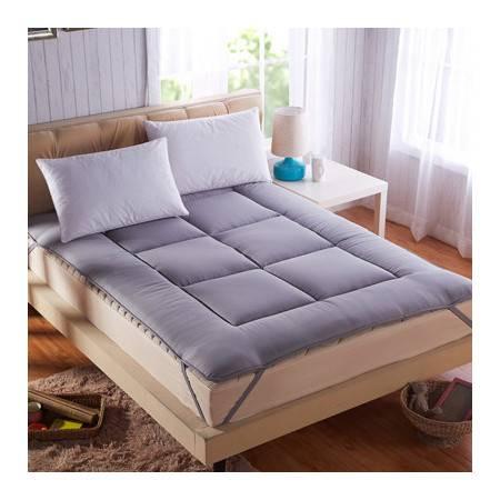 竹炭床垫榻榻米透气床褥单双人护床垫1.35M