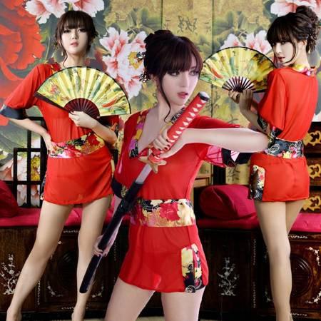 台湾性感高档和服睡裙内衣制服诱惑日本和服套装睡衣