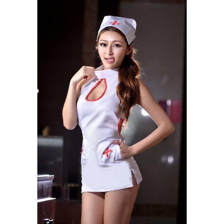 女式戏护士套装制服诱惑 性感露背舞台装