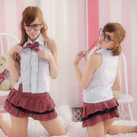 学生服公主裙/制服诱惑演出服啦啦队领舞服