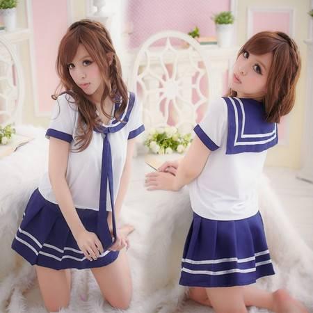 日式学生装清纯少女学生制服装