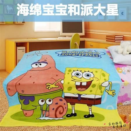 可爱卡通珊瑚绒披风空调毯7款花色可选毯子1.5×2米
