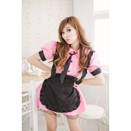 女佣服学生装可爱女佣带领带完美清纯女仆装制服