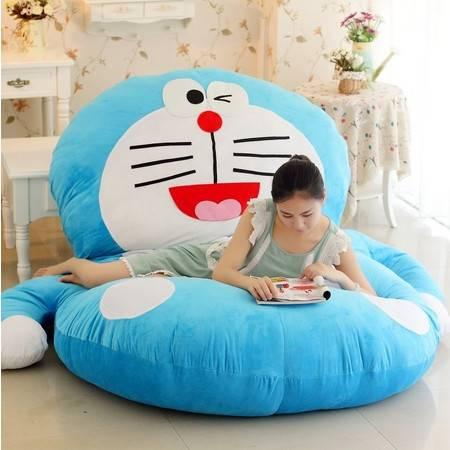 哆啦a梦叮当机器猫床垫卧室懒人沙发榻榻米单人卡通个性创意睡垫