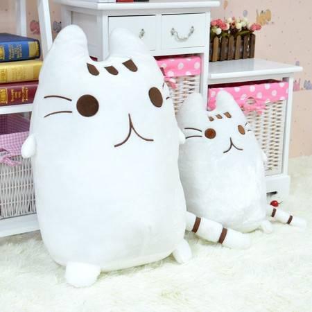 亚丽绒饼干猫抱枕公仔毛绒玩具公仔30CM