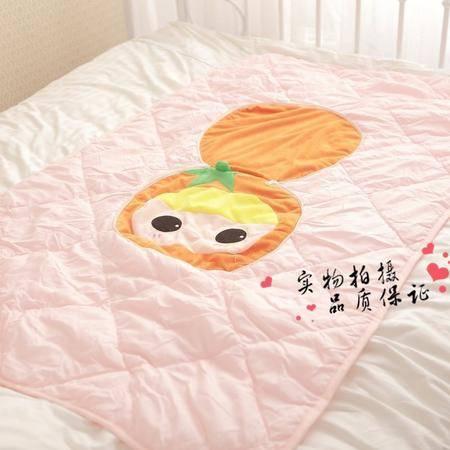 大号创意番茄空调被靠垫被抱枕90×150CM