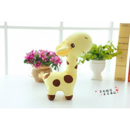 创意毛绒玩具3号高50CM宽度35CM印花长颈鹿