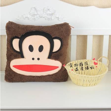 猴子新品卡通空调被抱枕被靠垫被