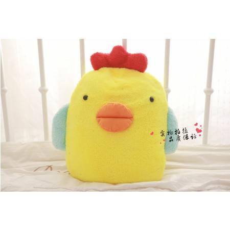 毛绒玩具小鸡大号空调被靠垫被抱枕