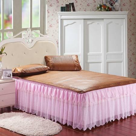 床上用品夏季爆款新款蕾丝床裙1.5米床席梦思套150*200CM