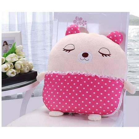 多功能卡通抱枕被 空调被 可爱靠垫被儿童夏被抱枕礼品