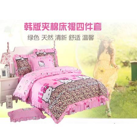 全棉单个床裙1.2m床120*200cm