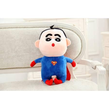超人蜡笔小新毛绒玩具公仔玩偶1号75CM