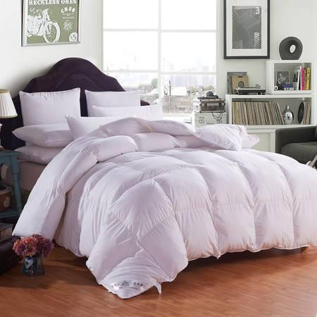 全棉羽绒被 超柔保暖加厚棉被被芯180*220 6斤