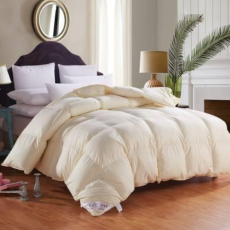 全棉羽绒被 超柔保暖加厚棉被被芯220*240 6斤