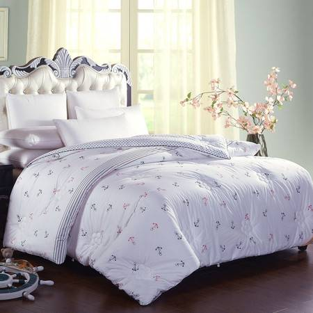天然棉花被长绒棉被 单双人学生棉被棉絮被褥150*200 4斤
