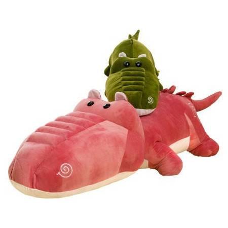 新款鳄鱼创意毛绒玩具卡通公仔2号150CM