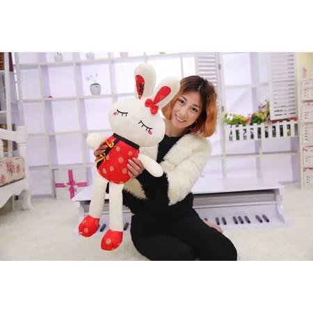 唐装Love兔子 毛绒玩具公仔1号120CM