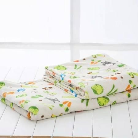 双层加厚毛毯 创意卡通空调毯子2×1.5米