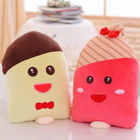 夏季雪糕抱枕毛绒玩具抱枕45×30CM
