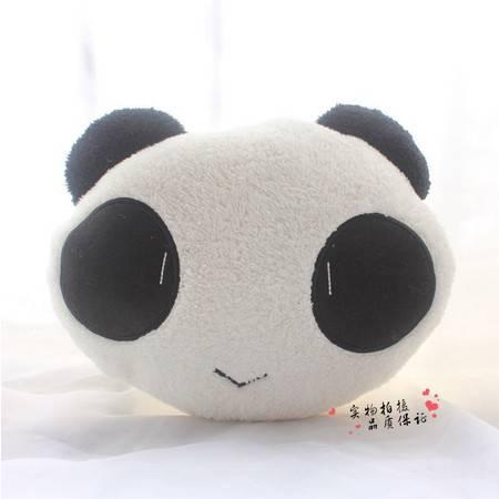 小号熊猫卡通暖手靠垫35×30CM