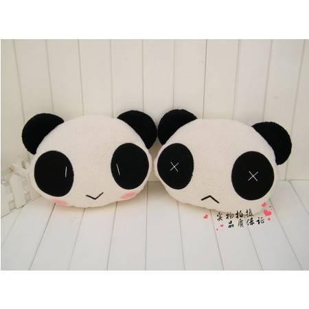 小号熊猫卡通暖手靠垫 35×30CM