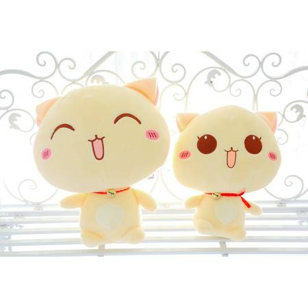 2号丁当猫 猫咪公仔 毛绒玩具40CM
