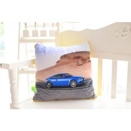 汽车系列空调被抱枕被创意毛绒玩具靠垫被子1×1.5米