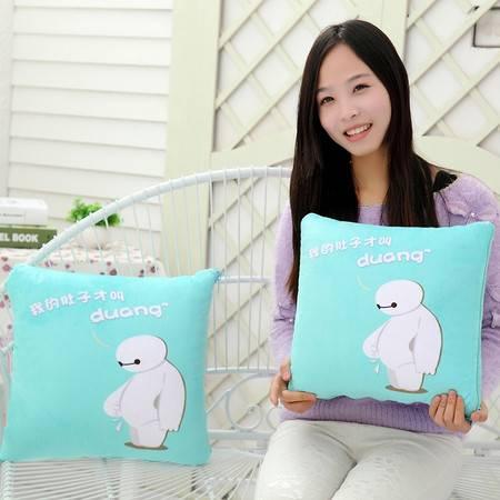 大白空调被 卡通夏凉被抱枕被大号被子1.5×1.75米