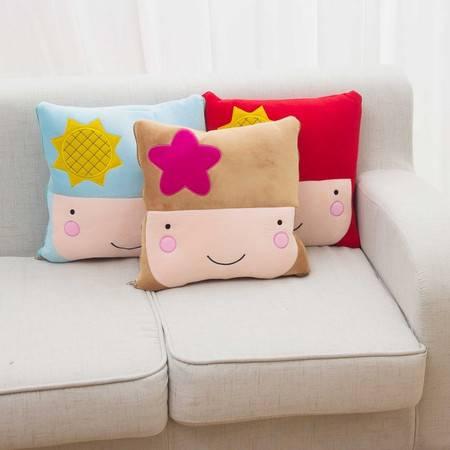 卡通宝宝空调被卡通夏凉被抱枕被1×1.5米