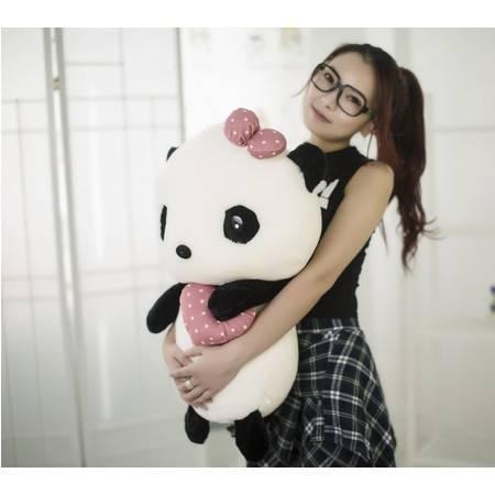 抱心熊猫公仔玩偶创意卡通毛绒玩具2号50CM