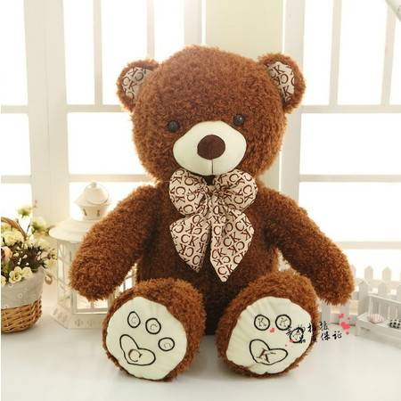 2号CK熊 创意毛绒熊公仔 填充毛绒玩具80CM