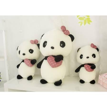 抱心熊猫公仔玩偶创意卡通毛绒玩具1号60CM