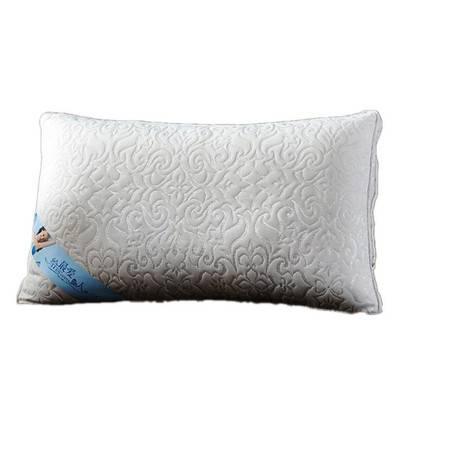 高档全棉针织棉枕芯按摩枕护颈枕助睡眠羽丝绒枕心74*48CM