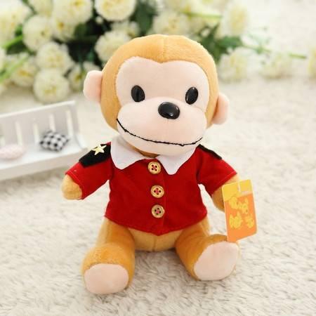 可爱猴小公仔 创意卡通毛绒玩具20CM