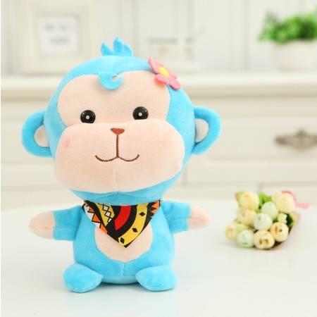 猴年吉祥物 创意领巾猴小公仔毛绒玩具玩偶20CM