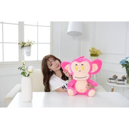 猴年吉祥物 坐款猴子毛绒玩具公仔30CM