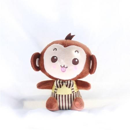 情侣顽皮猴 可爱猴子填充毛绒玩具20CM