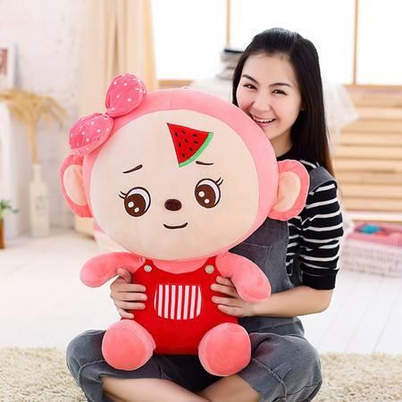 猴年吉祥物西瓜情侣猴毛绒玩具公仔30CM