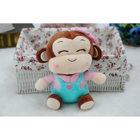 猴年吉祥物新款猴子小公仔毛绒玩具公仔25CM