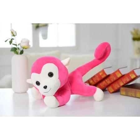 猴年吉祥物 趴款猴子毛绒玩具公仔20CM