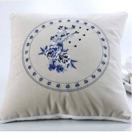 中国风刺绣多功能抱枕被办公室抱枕午睡趴枕靠垫