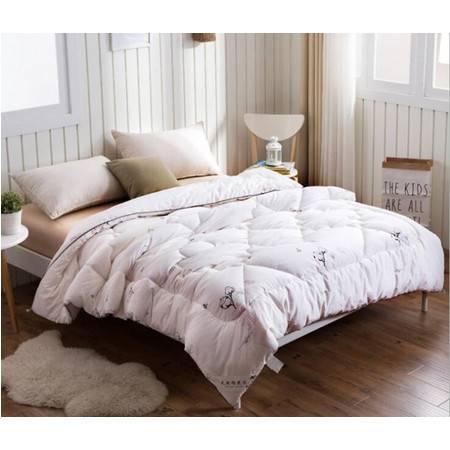 新疆棉花冬被超柔棉花被学生棉被冬棉絮被芯150*200/4斤