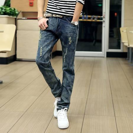 mssefn 2014新款时尚百搭个性潮修身牛仔裤 2098-NZ32