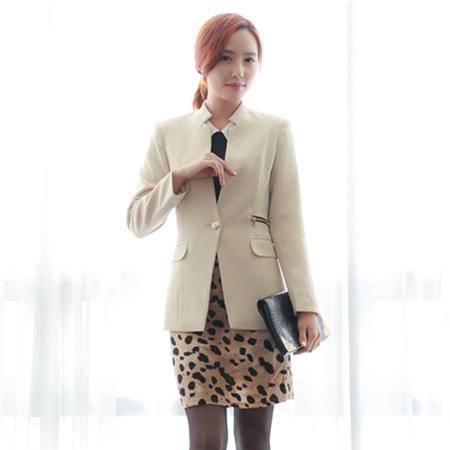 mssefn  2014秋装新款女装韩版休闲小西装女西服外套8629-2933