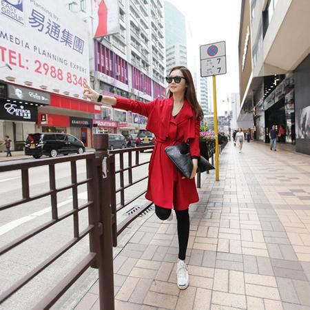 mssefn  2014新款韩版街头长款风衣 外套 热销 明星同款 8612-8608