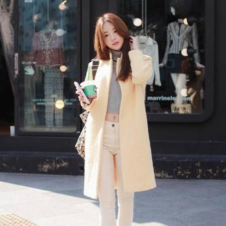 mssefn 2014新款 时尚修身女装外套 羊毛呢大衣 8611-W133