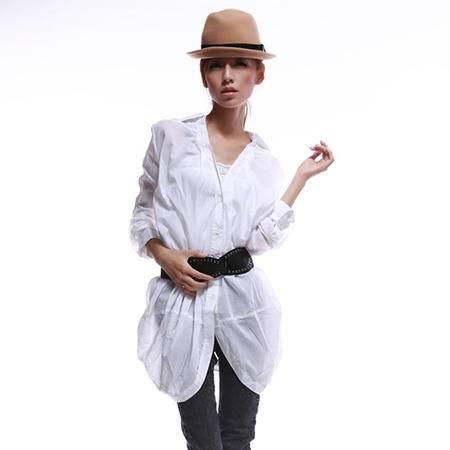 mssefn  2014新款欧版休闲时尚衬衫8607-M809