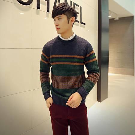 mssefn 2014年秋冬新款小时代风韩版时尚休闲毛衣男士针织衫 2033 M30