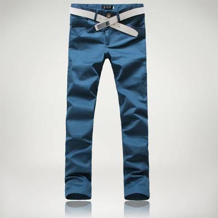 mssefn2014秋冬新款男装休闲裤 糖果8色裤子 男士修身长裤 K12